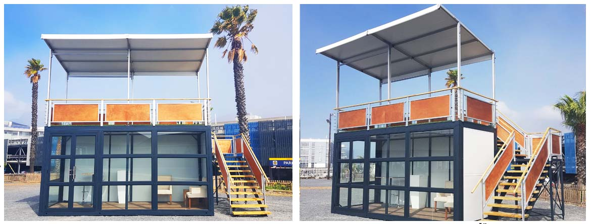 Modular Buildings, SPACEPAC, 2D Modular Buildings, 3D Volumetric Building,  Flat-Packed Shipping Container, Modular Construction, Temporary Buildings, Prefabrication