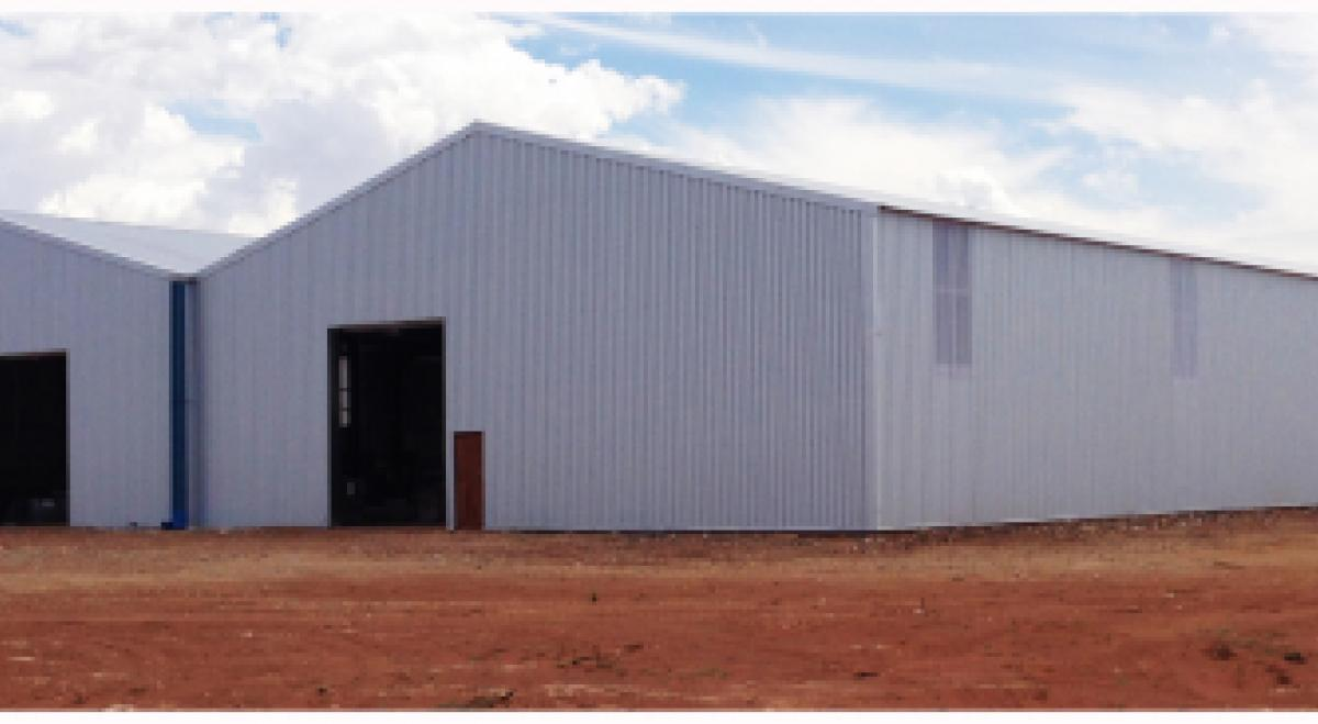 Factory Engineered Construction, Heavy and Light Steel Frame Factory Construction, Warehouse Construction, Fast Construction, Steel Frame Modular Building